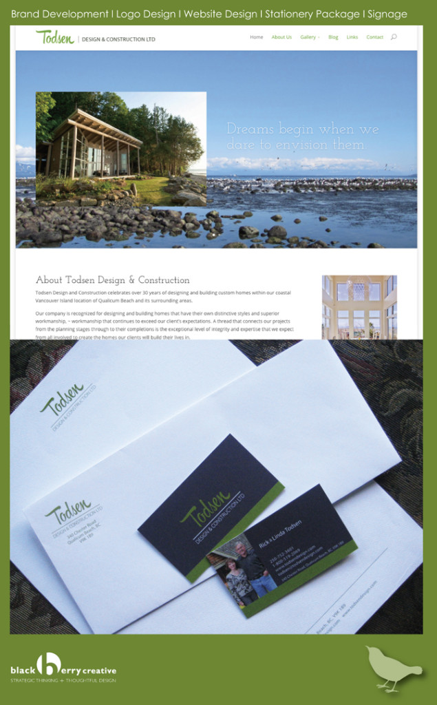 Website, logo, brand development